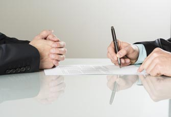 Signing and Agency Contract with An Exclusive Buyer Agency